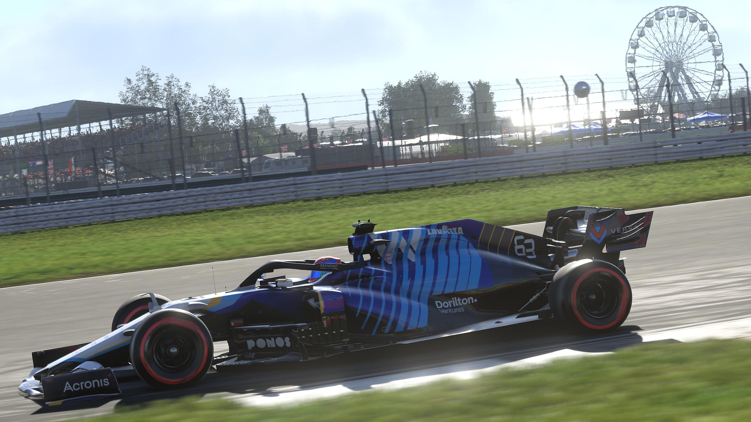 F1 2021 game screenshot