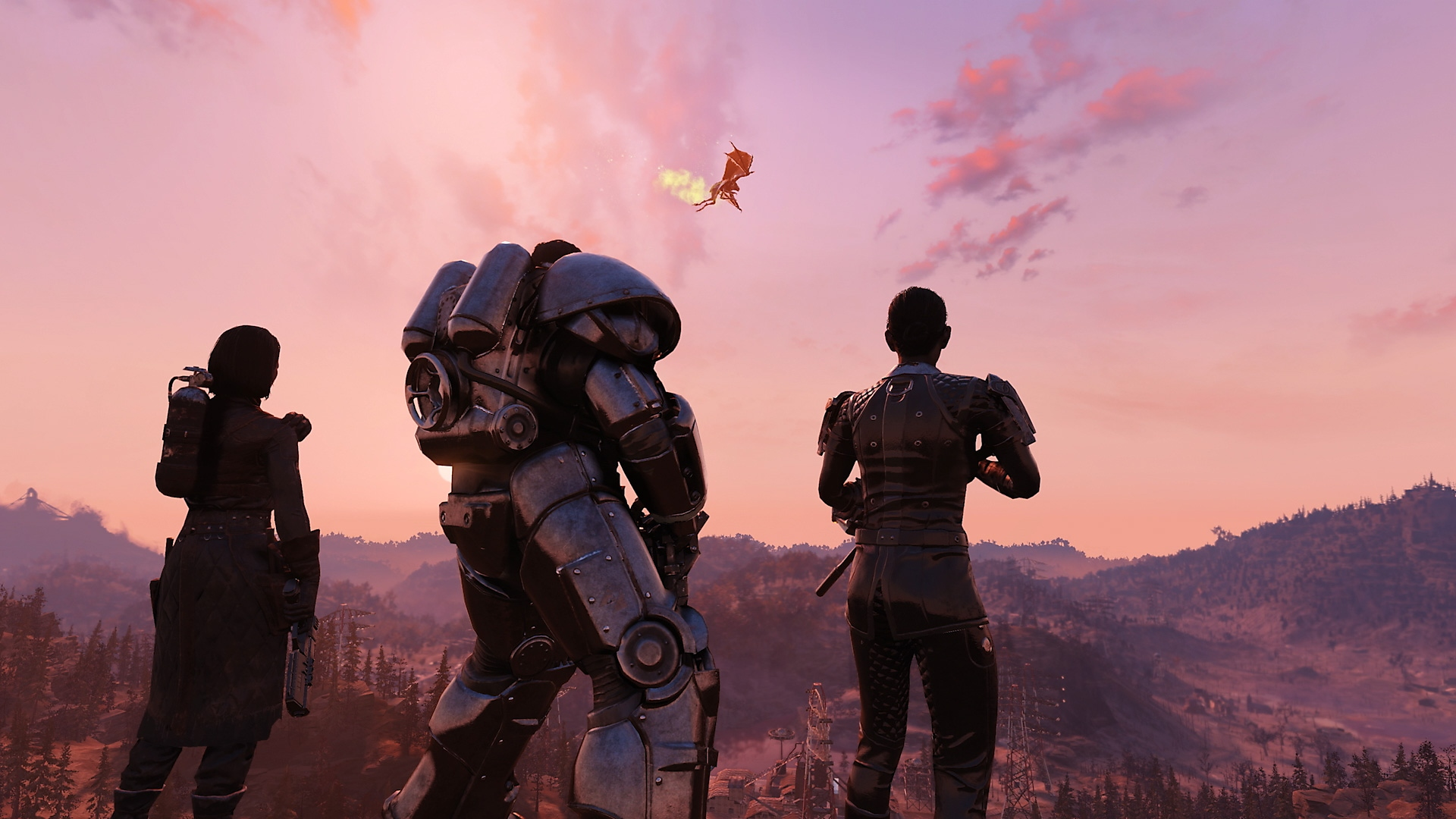 Captura de pantalla de Fallout 76 - Steel Dawn