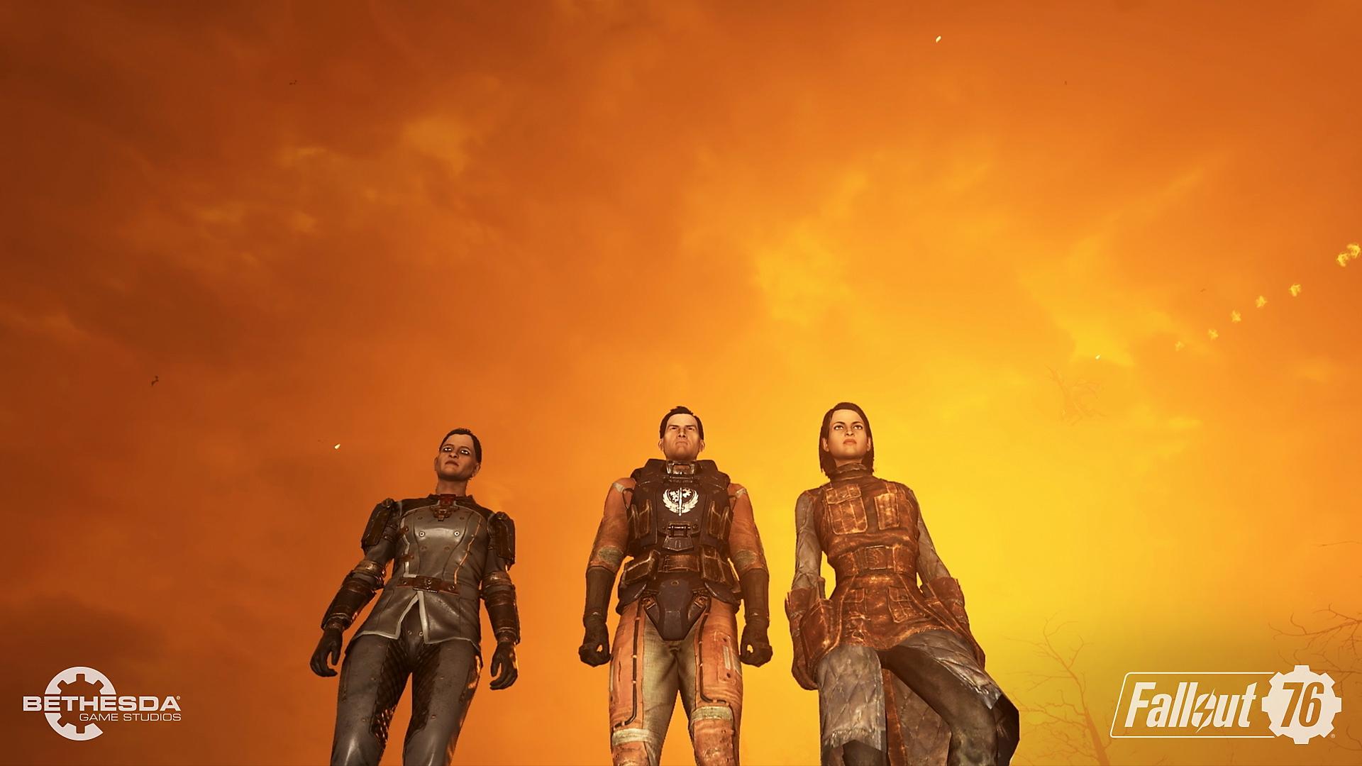 Fallout 76 - Steel Dawn – skjermbilde