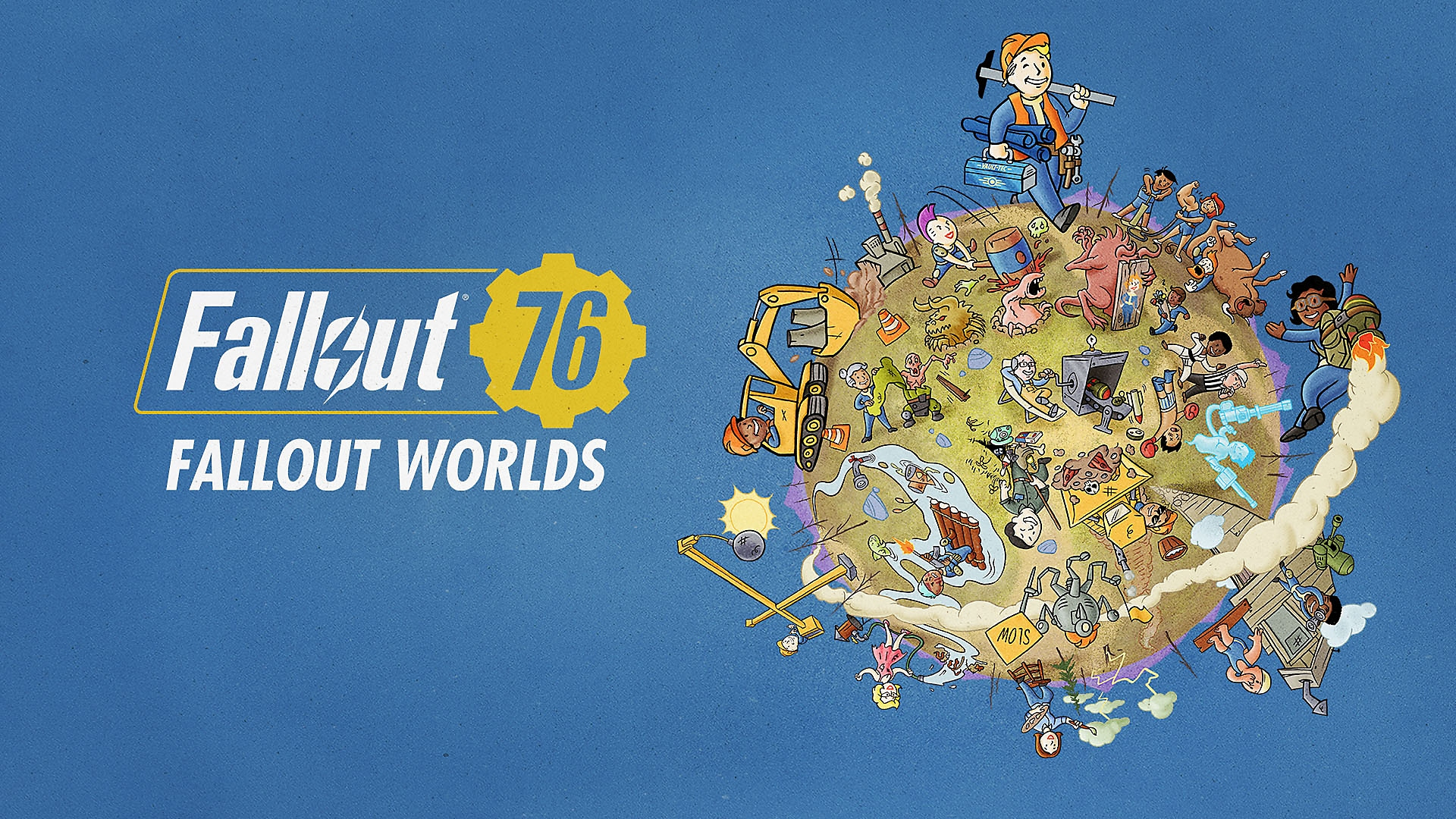 Fallout 76 - Fallout Worlds – grafika główna