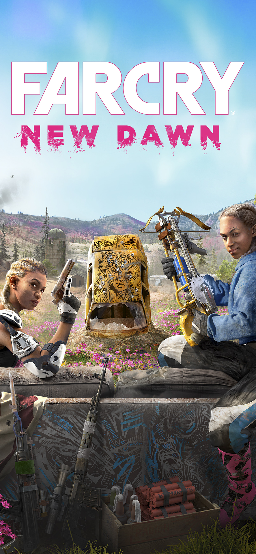 Far Cry New Dawn título fondo de pantalla de escritorio
