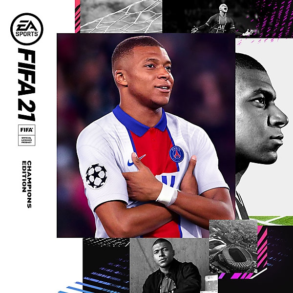 FIFA 21 Champions Edition pack shot