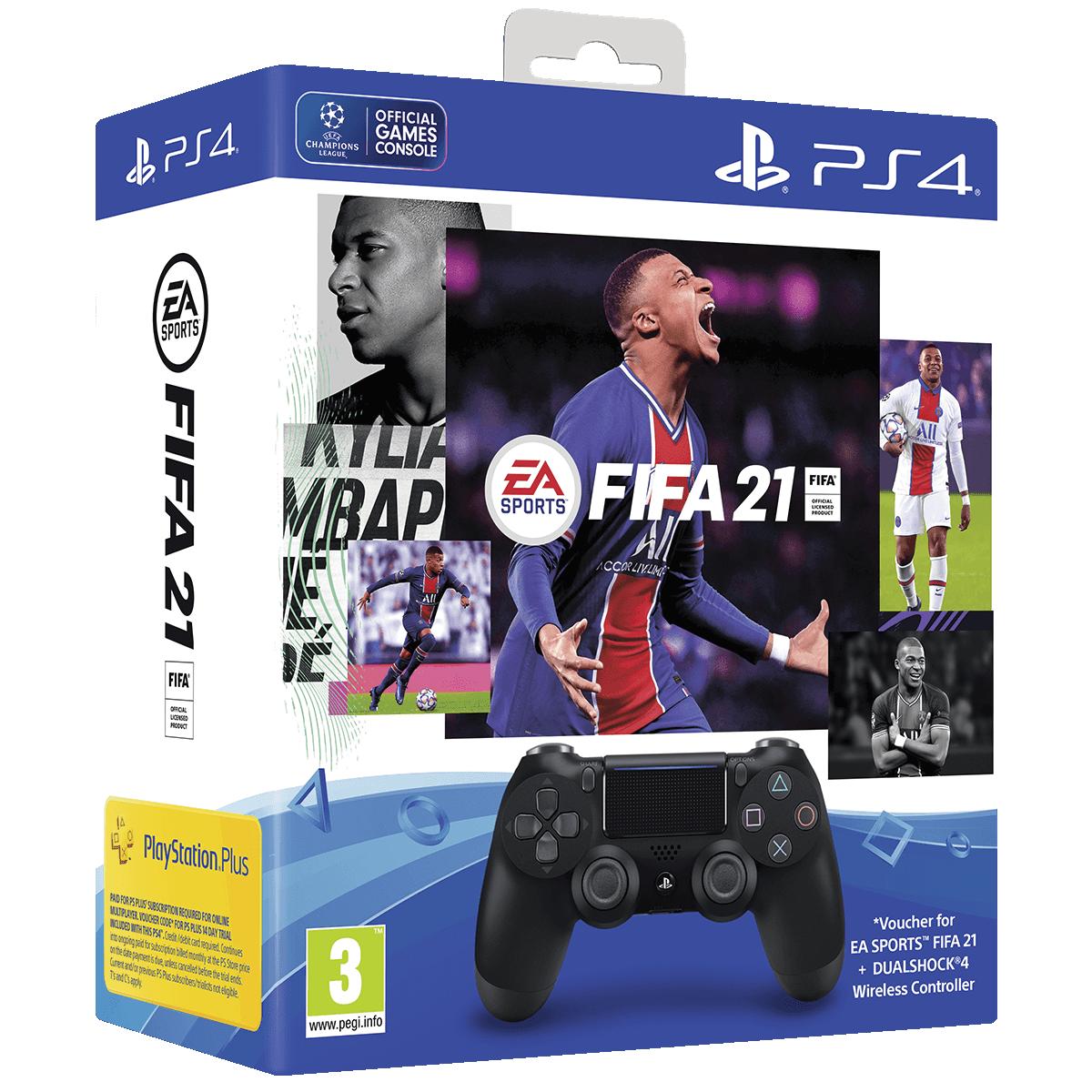 FIFA 21 DS4-Paketbild