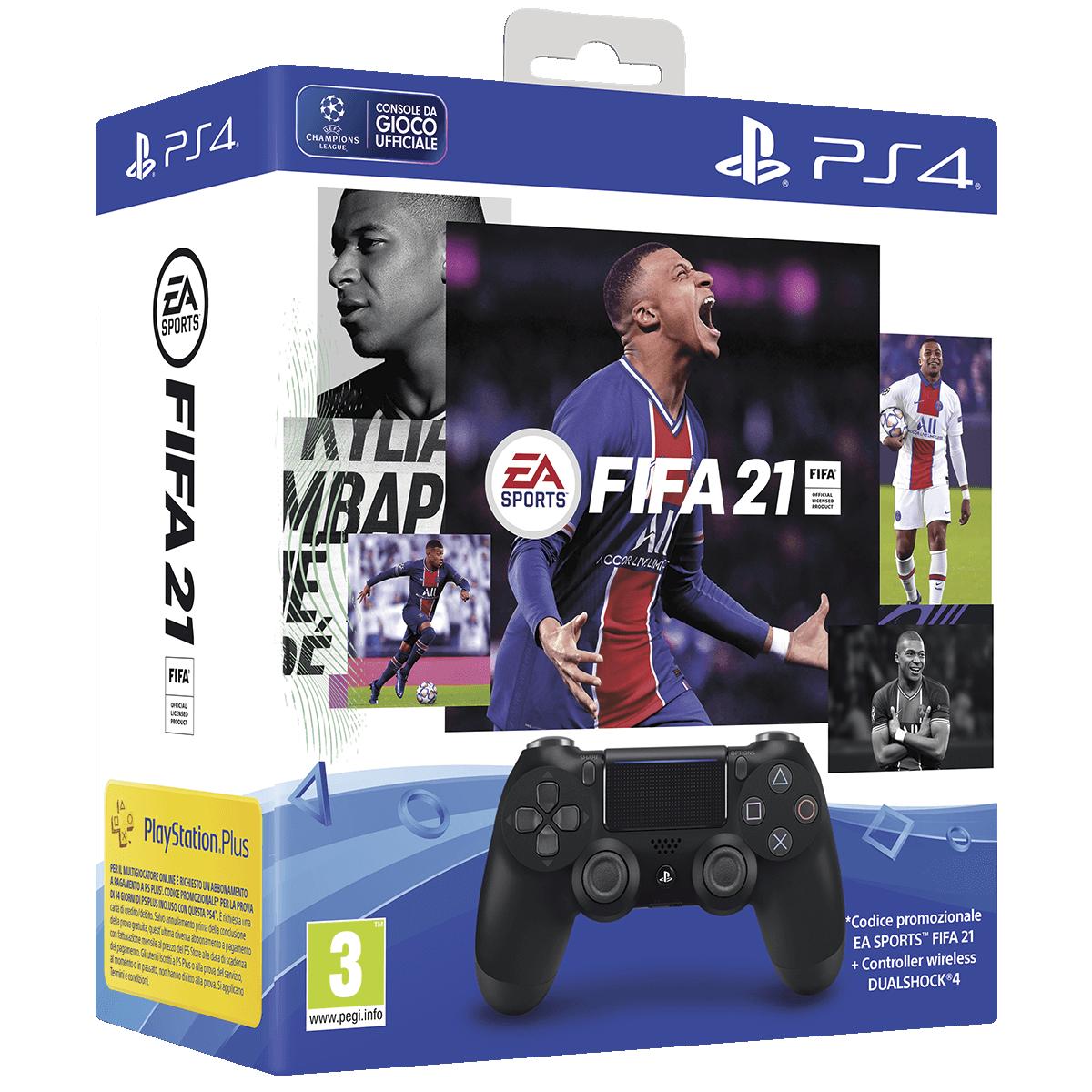 Immagine pacchetto DS4 FIFA 21