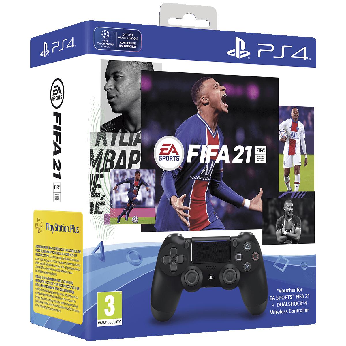 Afbeelding van FIFA 21 DS4-bundel