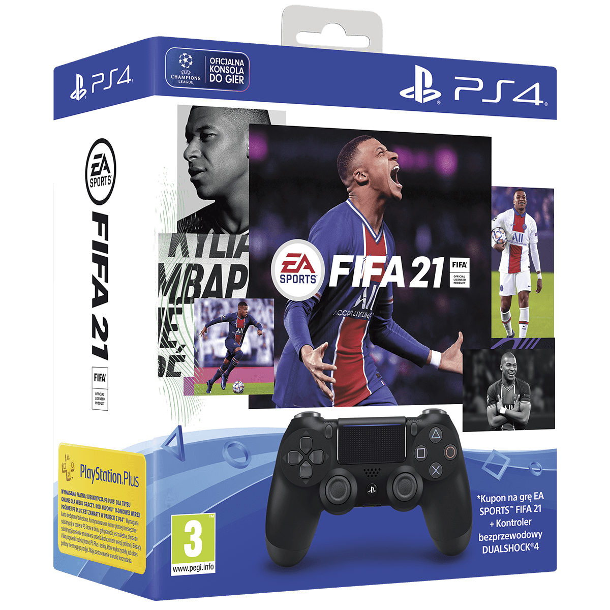 Obraz zestawu FIFA 21 DS4