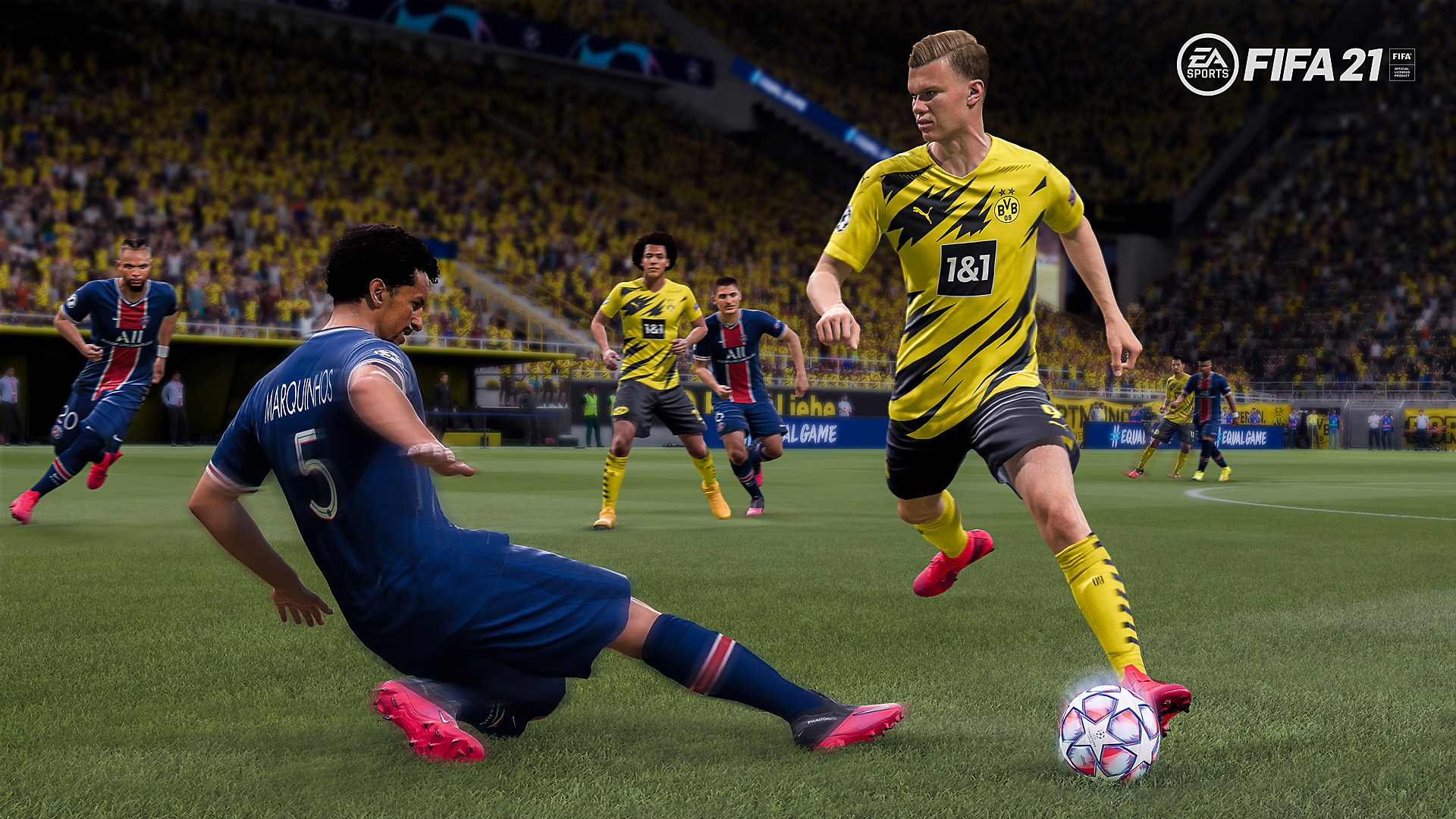 EA Sports FIFA 21 - PS4 Reveal Screenshot
