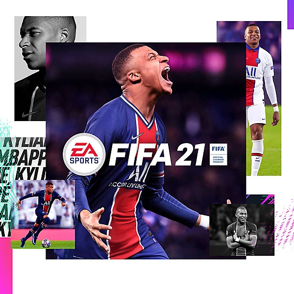 FIFA 21 Standard Edition pack shot