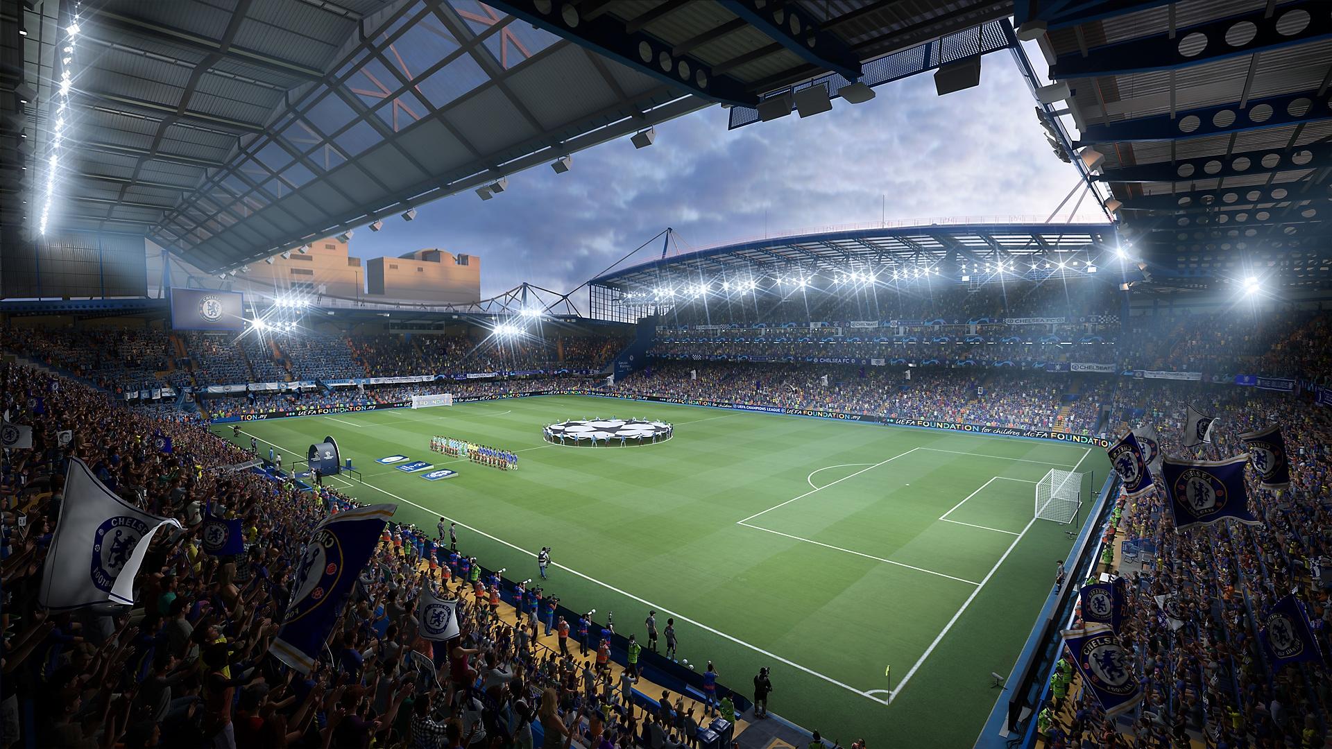 FIFA 22 - Stamford Bridge screenshot