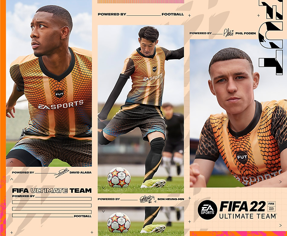 FIFA Ultimate Team 22 - section art
