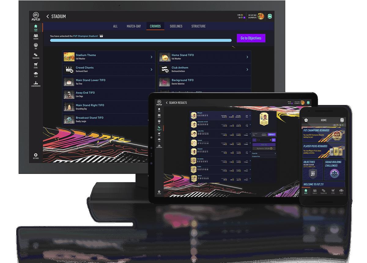 FIFA Ultimate Team - صورة التطبيق المرافق