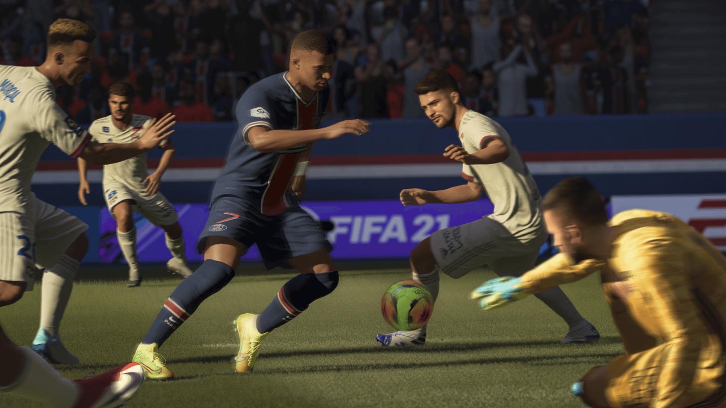 FIFA Ultimate Team - изображение по-малко стъпки