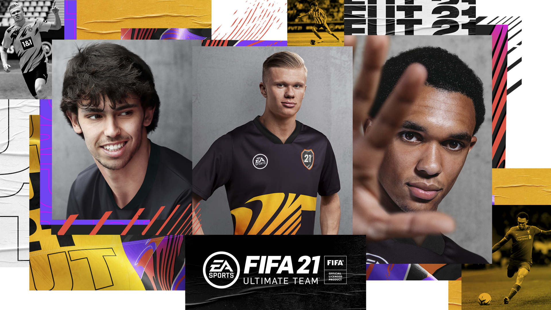 FIFA Ultimate Team 21 - section art