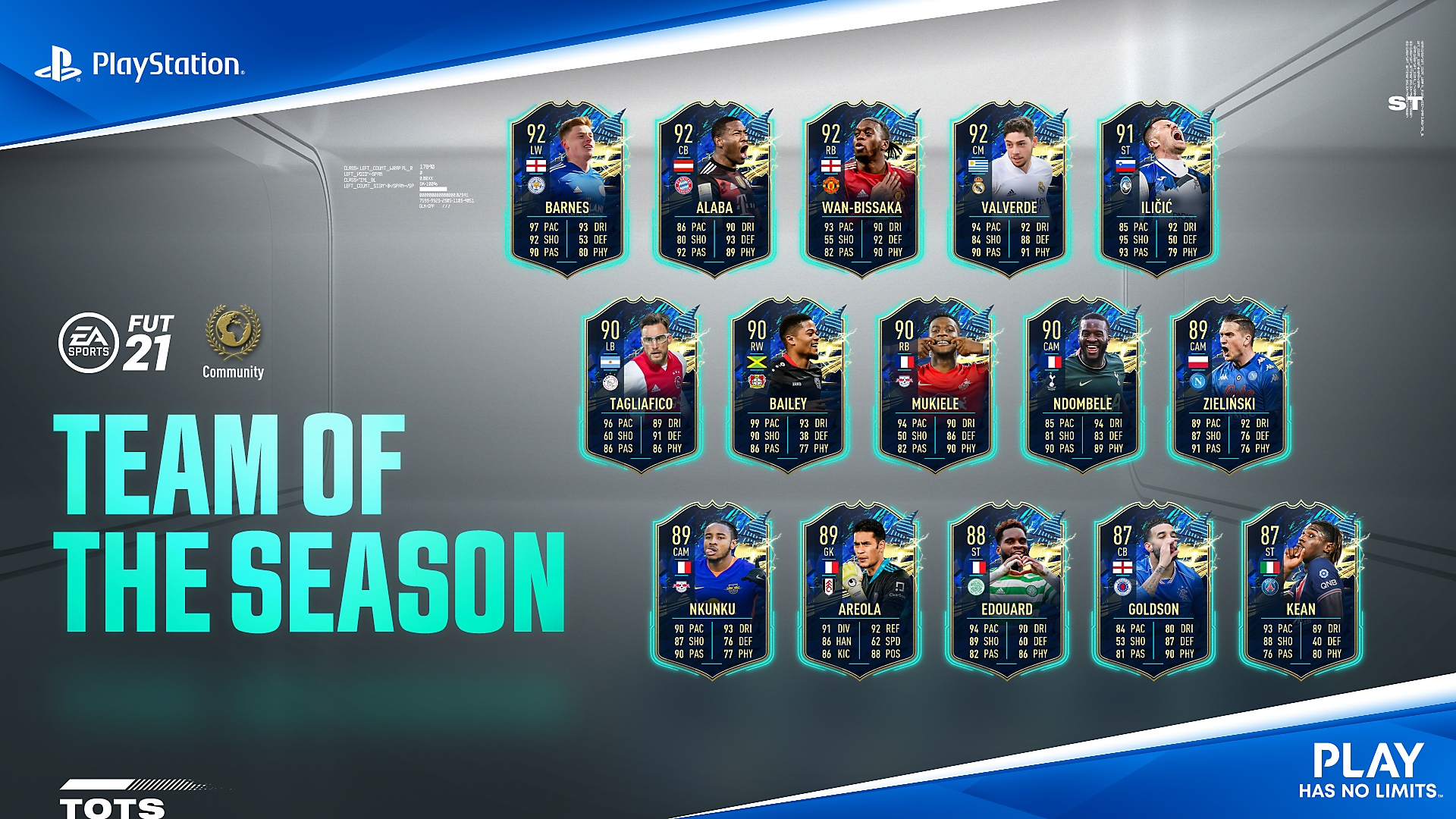 FIFA Ultimate Team - Team of the season