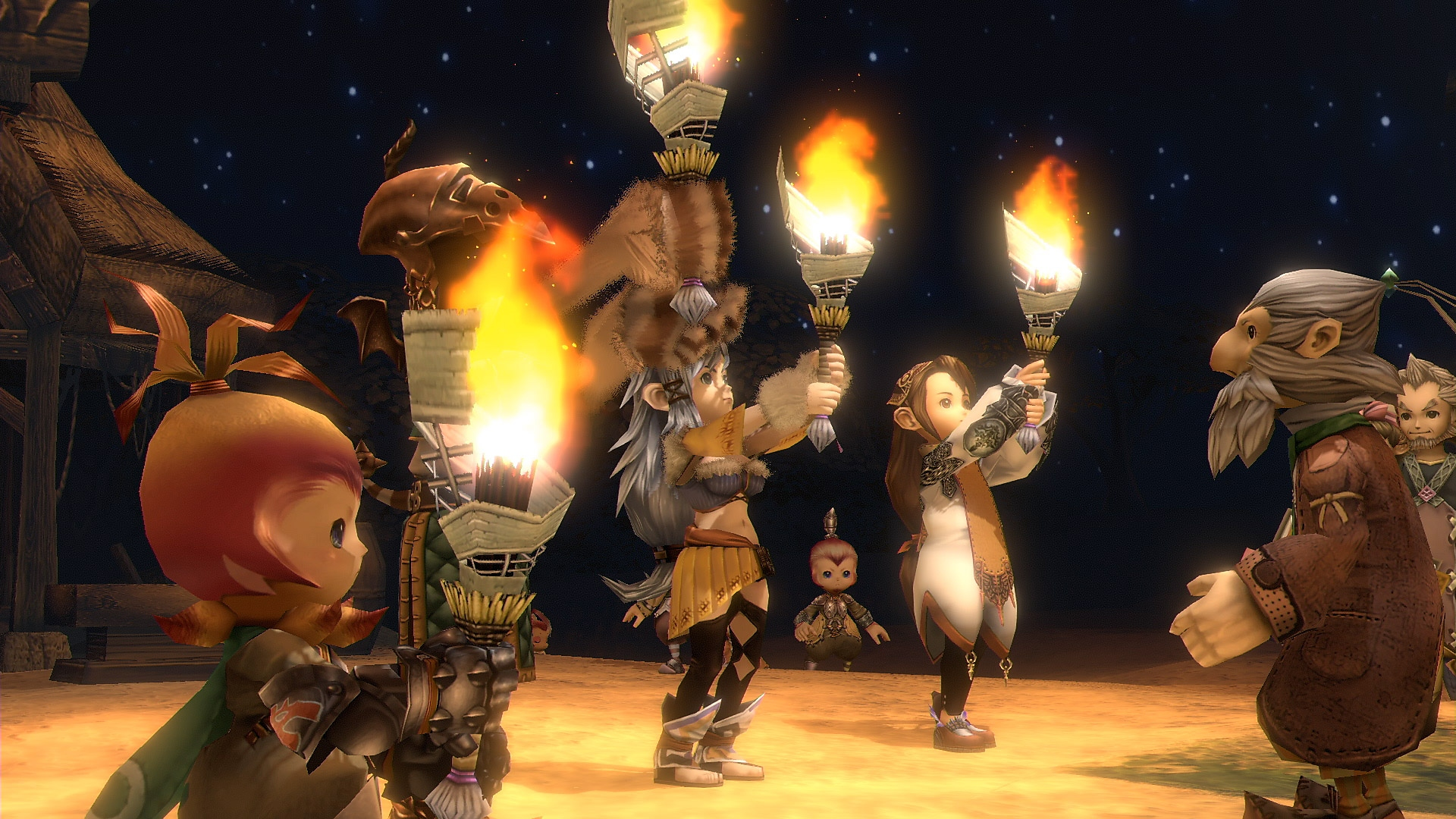 Final Fantasy Crystal Chronicles remastered edition új játékmenet képernyőkép