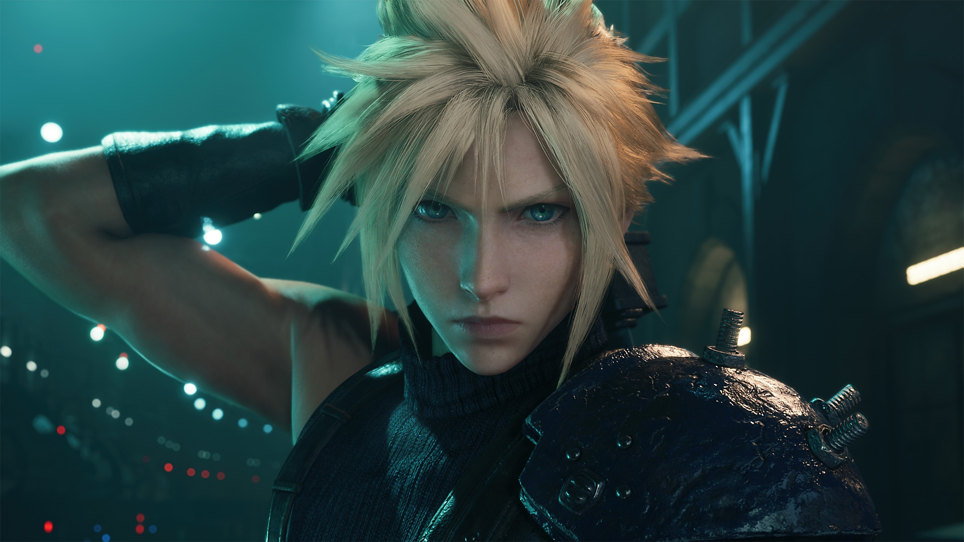 Final Fantasy VII Remake Intergrade - Capture d'écran des éléments principaux