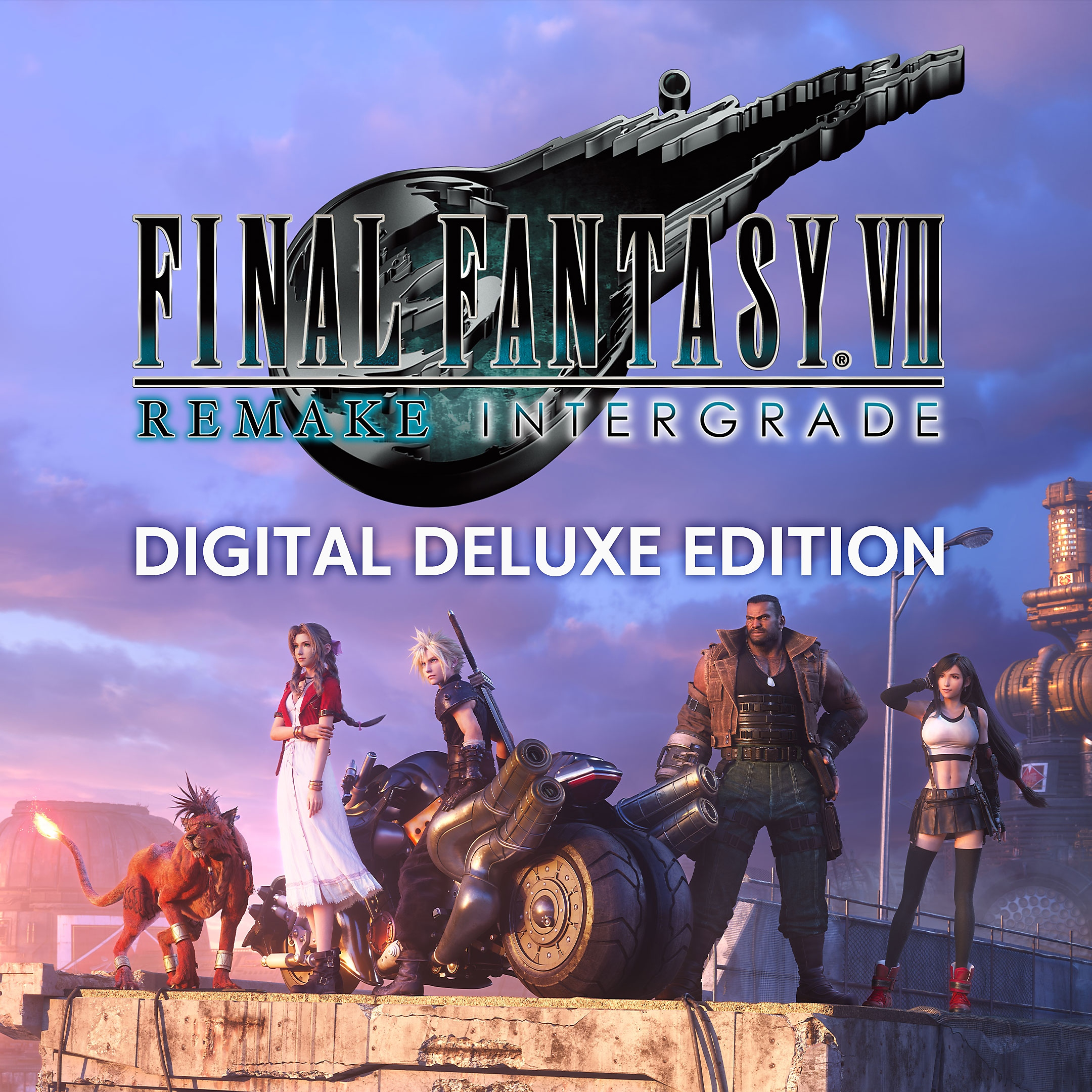FINAL FANTASY VII REMAKE INTERGRADE - Digital Deluxe Edition Store Art