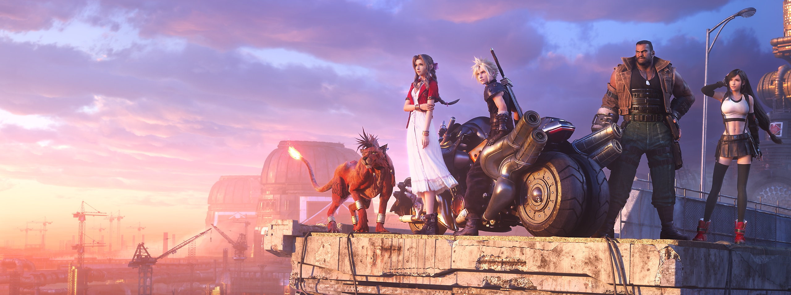 Final Fantasy VII Remake Intergrade - Key Art