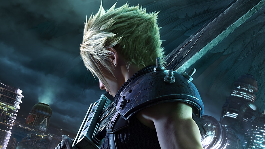 Final Fantasy VII Remake - key art