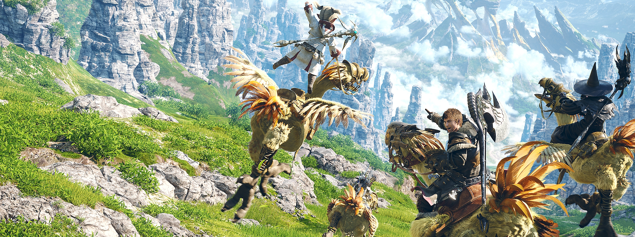 Final Fantasy XIV Online – key art