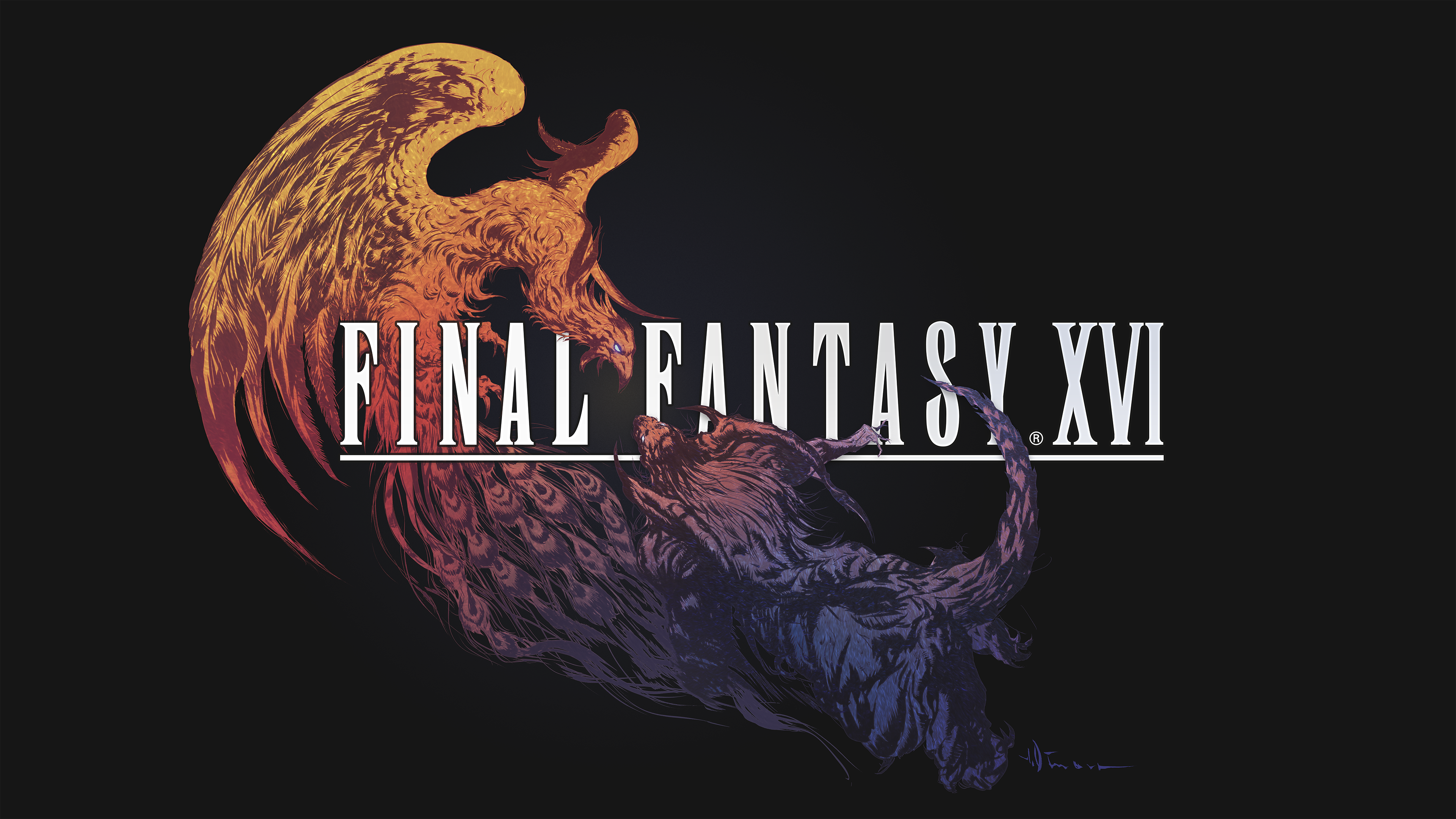 Final Fantasy XVI: logotipo