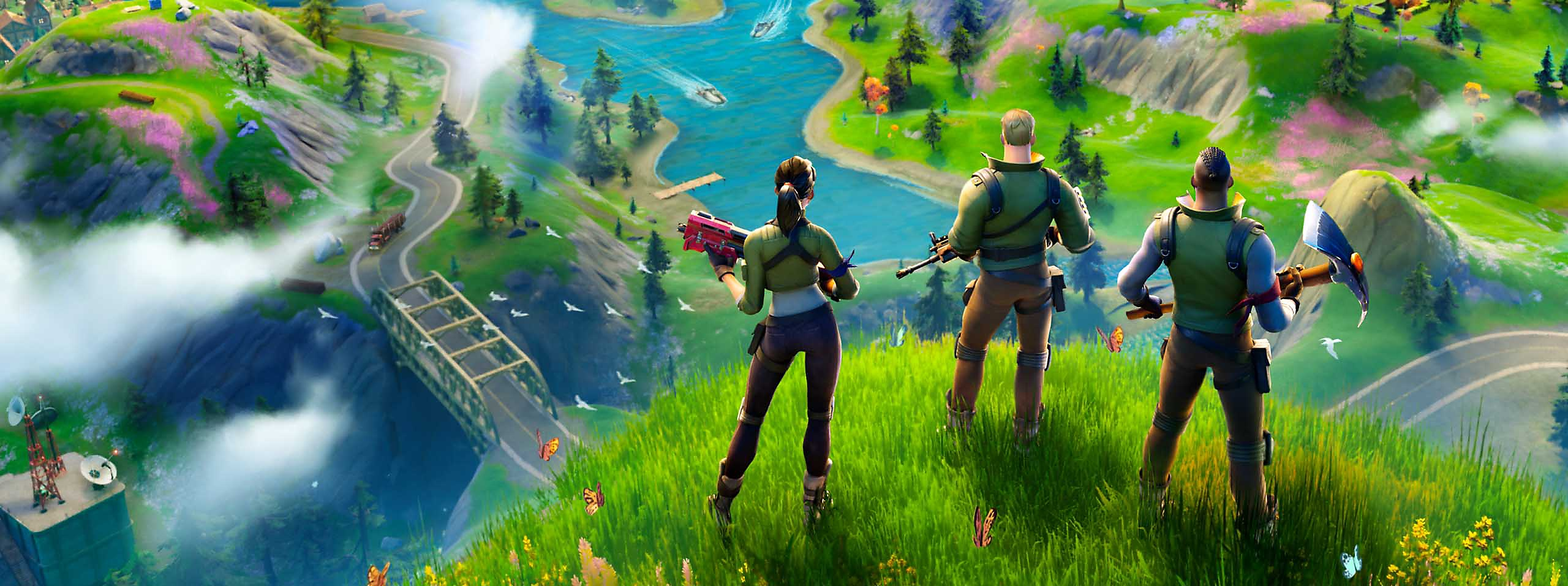 Fortnite — Chapter 2 Key Art