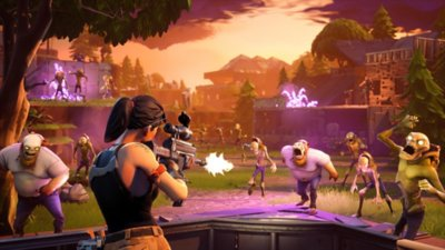 Fortnite – Save the World – gameplay-skærmbillede 2