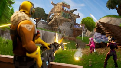 Fortnite – Battle Royale – gameplay-skærmbillede 1