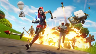 Fortnite – Battle Royale – gameplay-skærmbillede 2