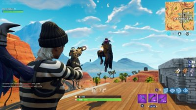 Fortnite – Battle Royale – gameplay-skærmbillede 3