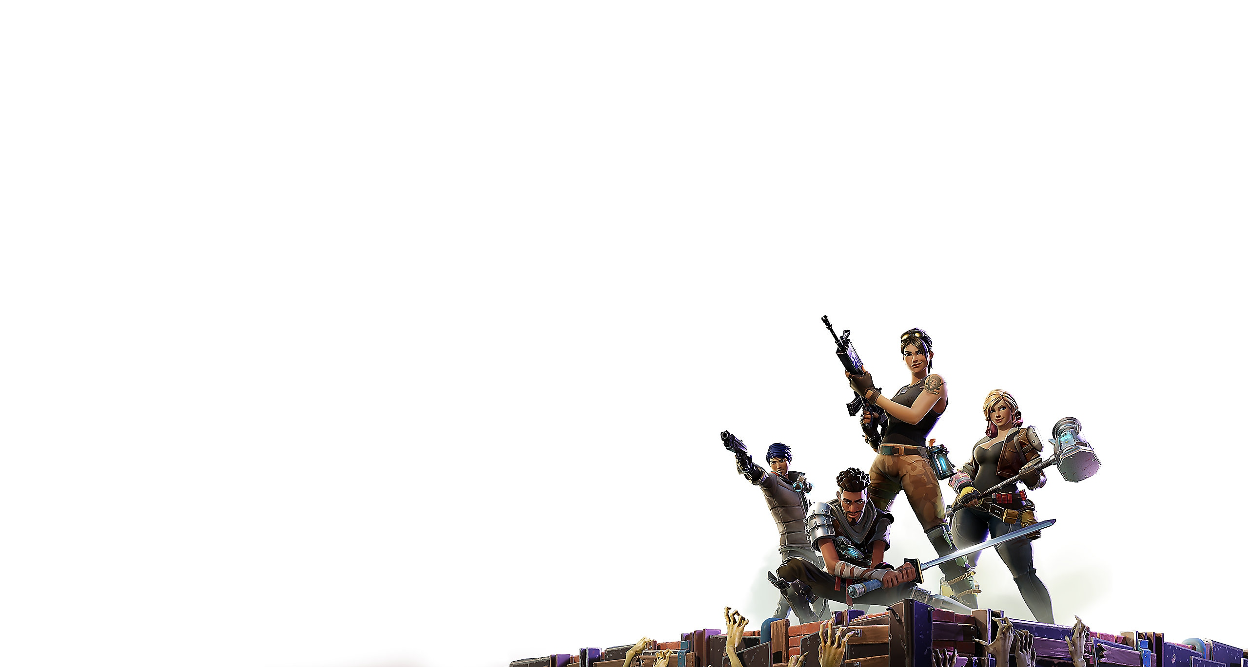 Fortnite — Save the World Section Background