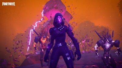 Fortnite - Battaglia reale - Screenshot dell'azione di gioco 10