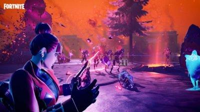 Fortnite - Battaglia reale - Screenshot dell'azione di gioco 5