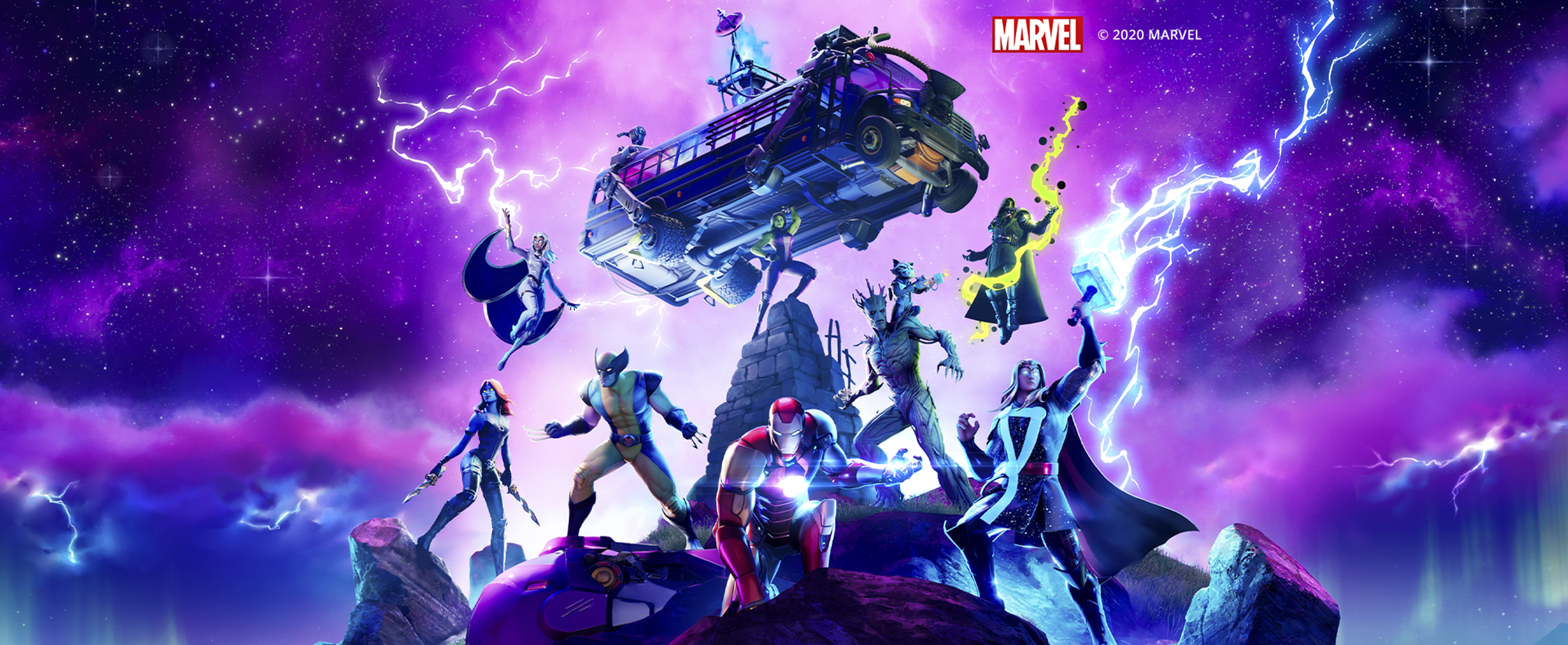 Fortnite - Season 2 Chapter 4 Key Art