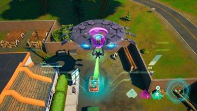 Fortnite - Battaglia reale - Screenshot dell'azione di gioco 4