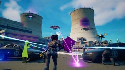 Fortnite - Battaglia reale - Screenshot dell'azione di gioco 3
