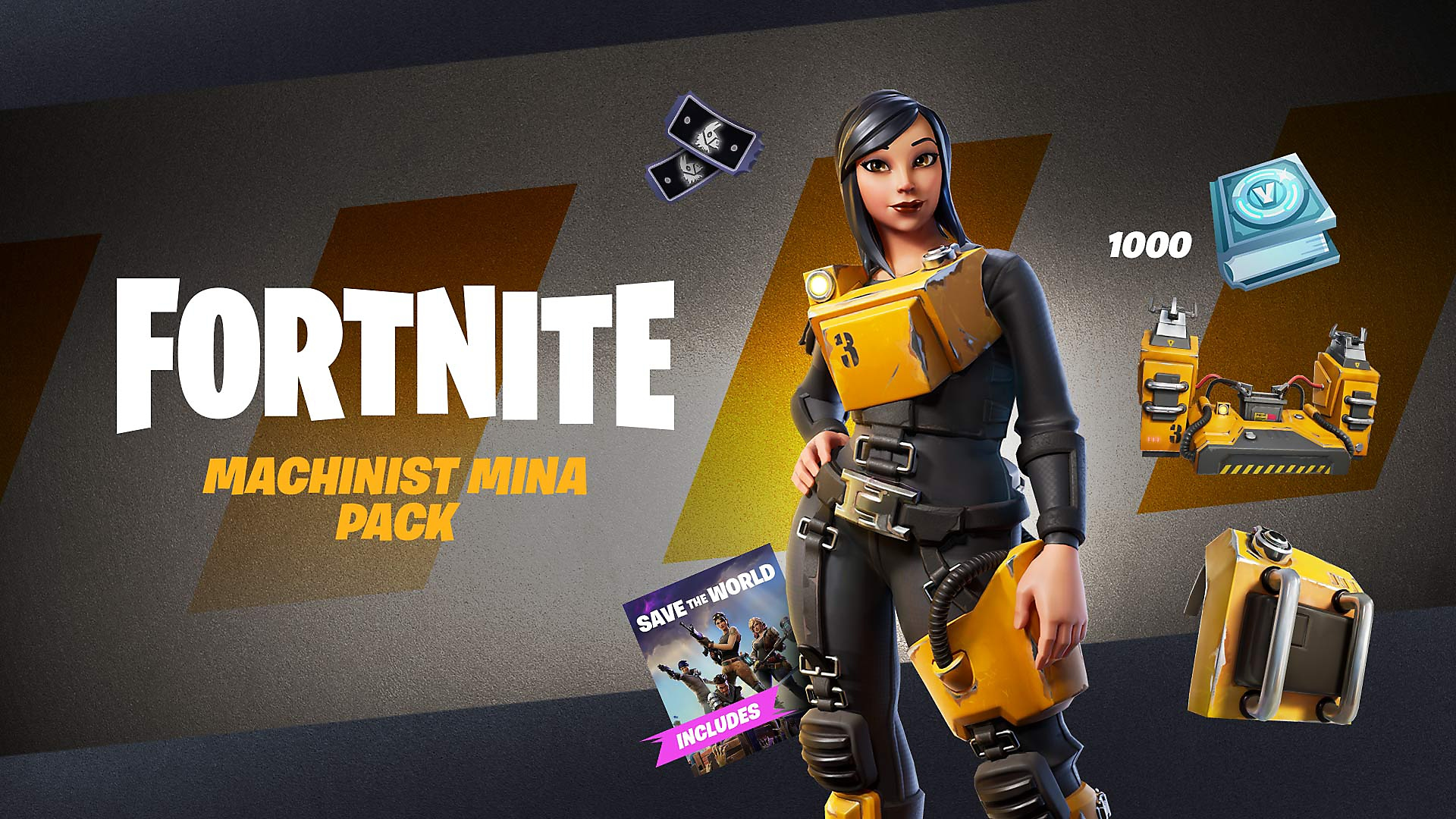 Fortnite - Powerhouse-pack - Store Art