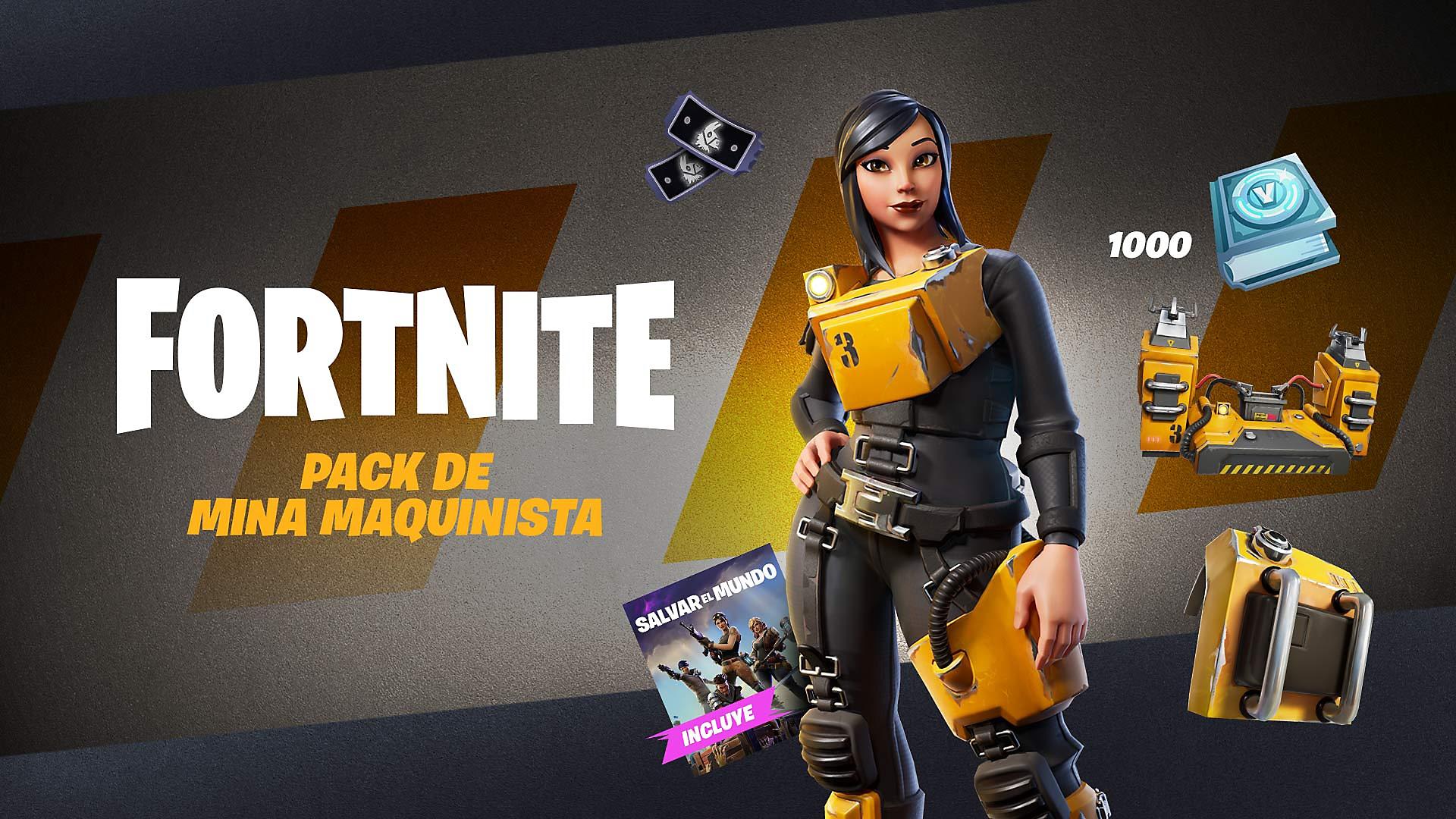 Fortnite - Pack de Fuerza motriz - Arte de la tienda