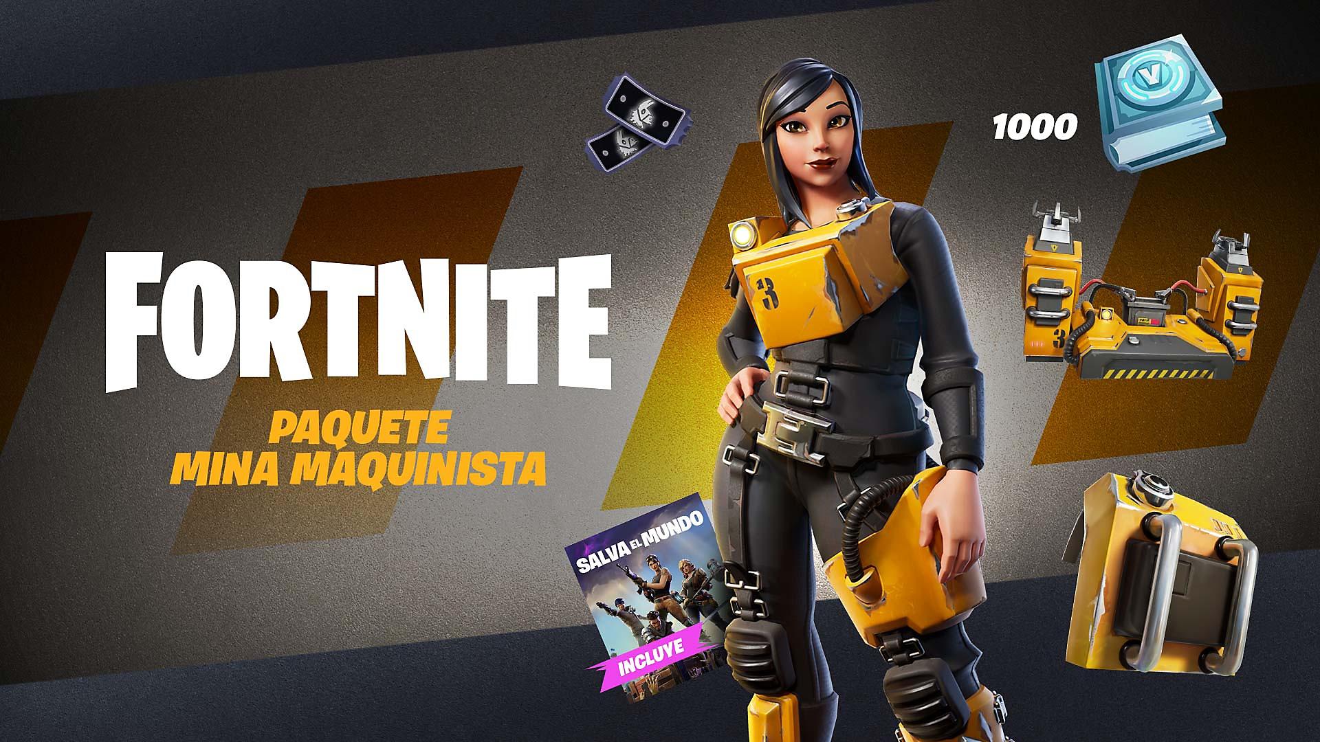 Fortnite - Pack fuerza motriz - Arte de tienda