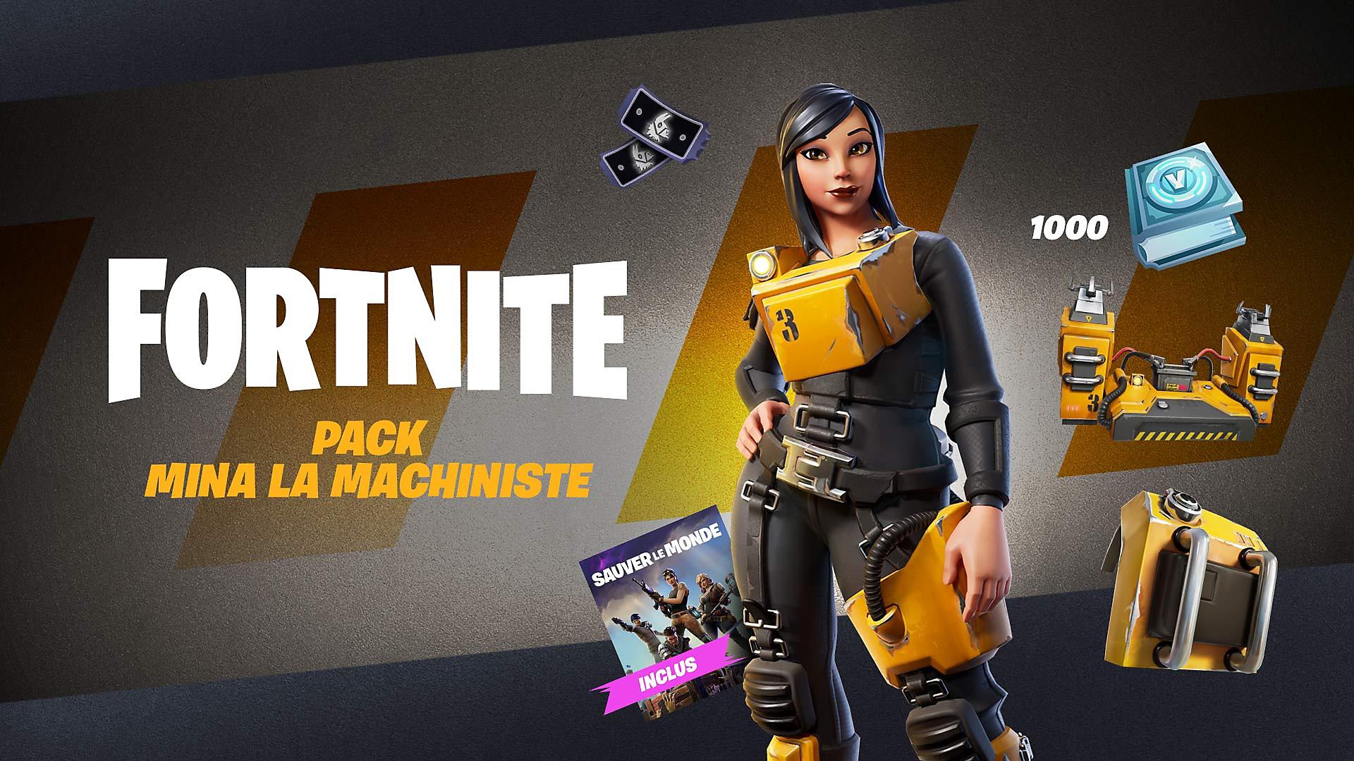 Fortnite - Pack Électron libre - Image du Store