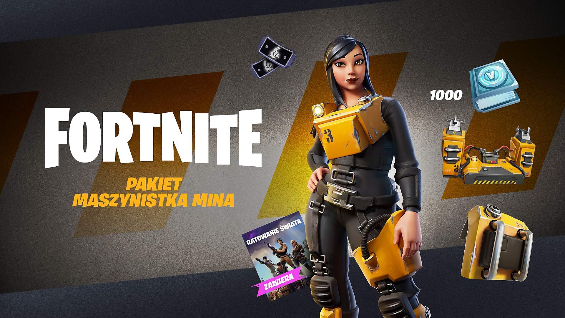 Fortnite – Powerhouse Pack – grafika sklepowa