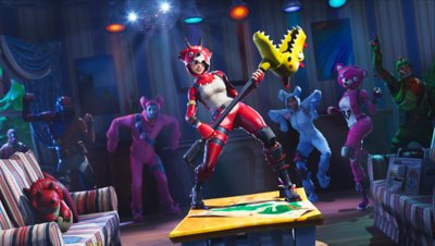 Fortnite - Battle Royale - Gameplay Screenshot 4