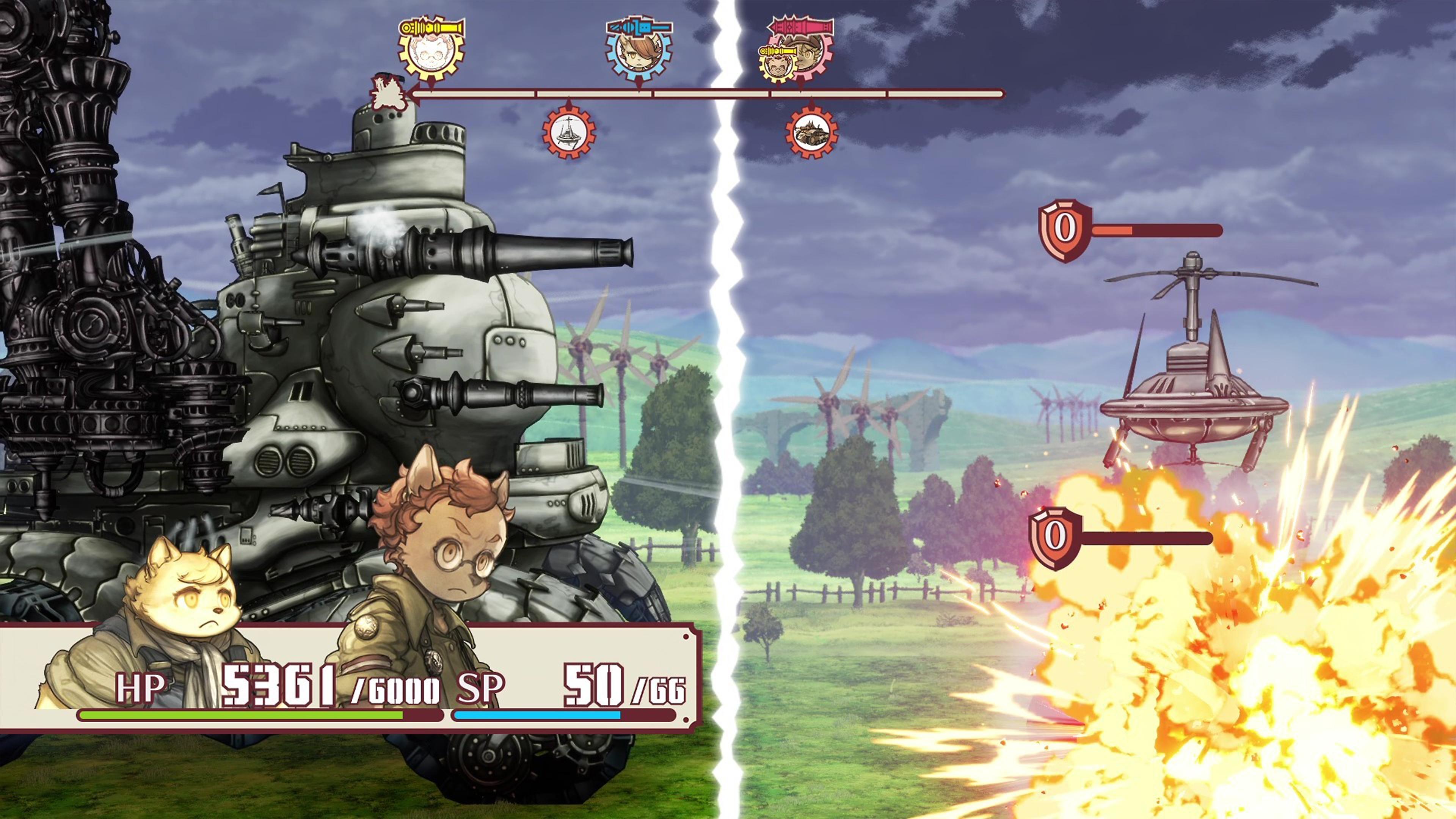 戦場のフーガ - Gallery Screenshot 1