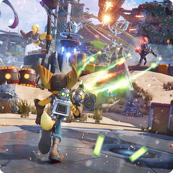 Ratchet and Clank: Una dimensión aparte - Captura de pantalla