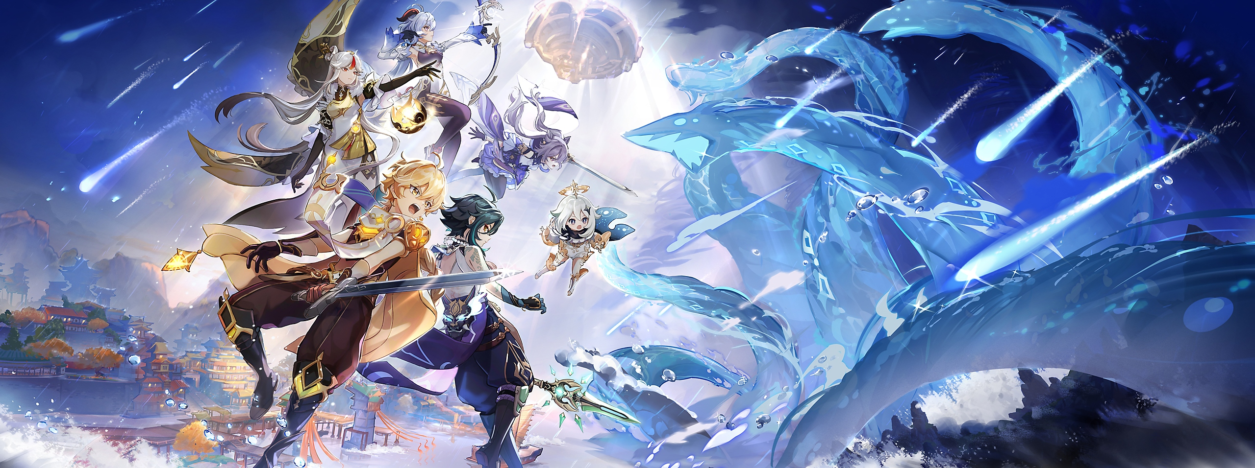 Genshin Impact: Mise à jour 1.5 - Illustration clé