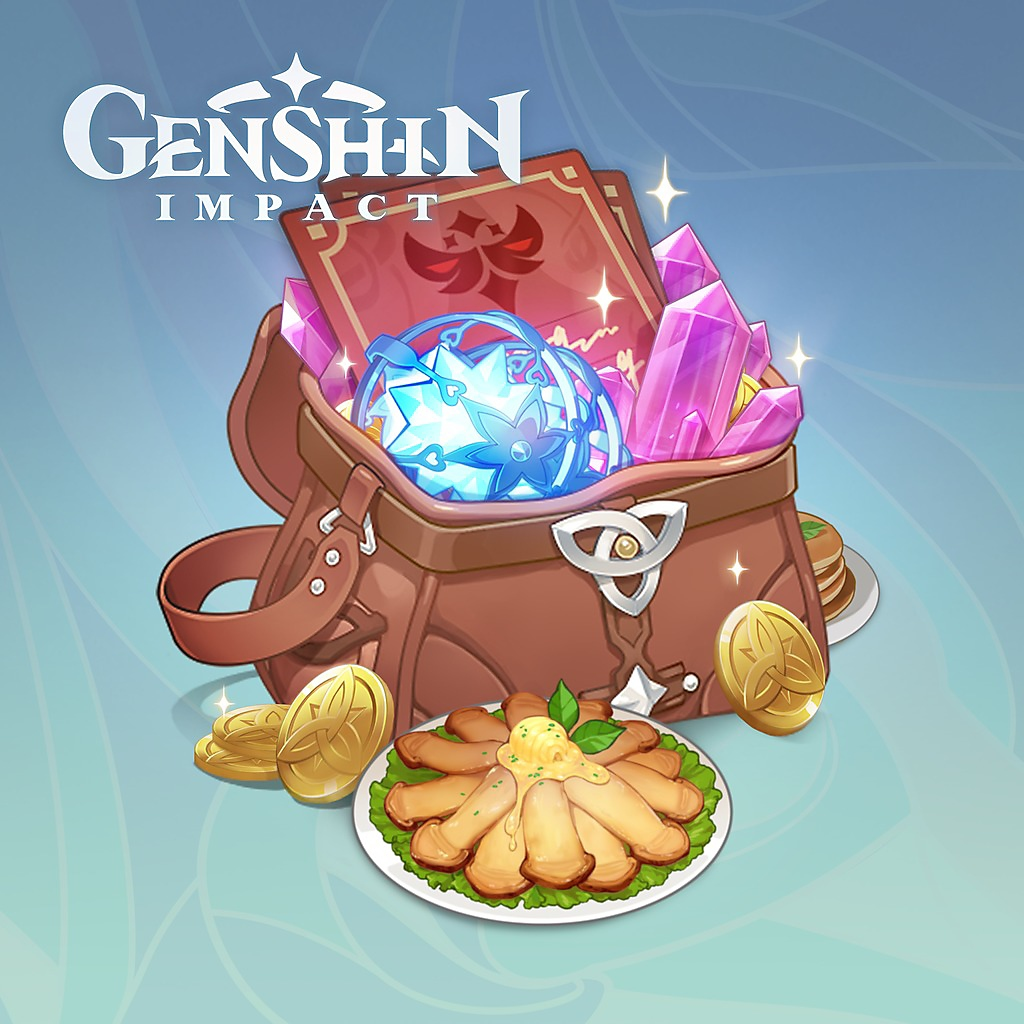 Genshin Impact - Adventurer's bundle