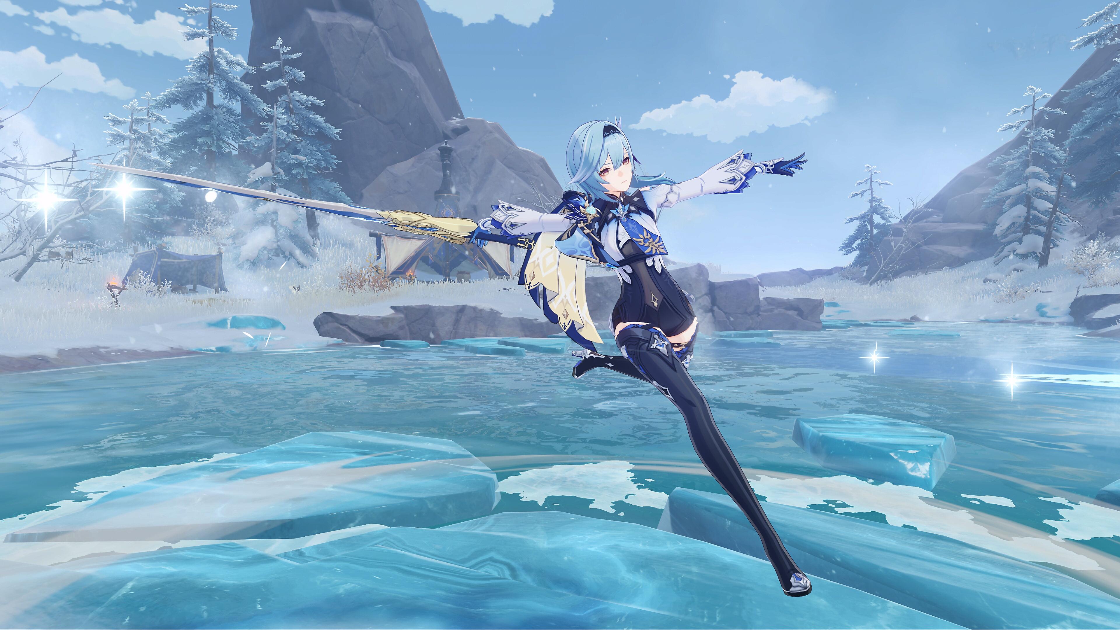 Genshin Impact – снимок экрана