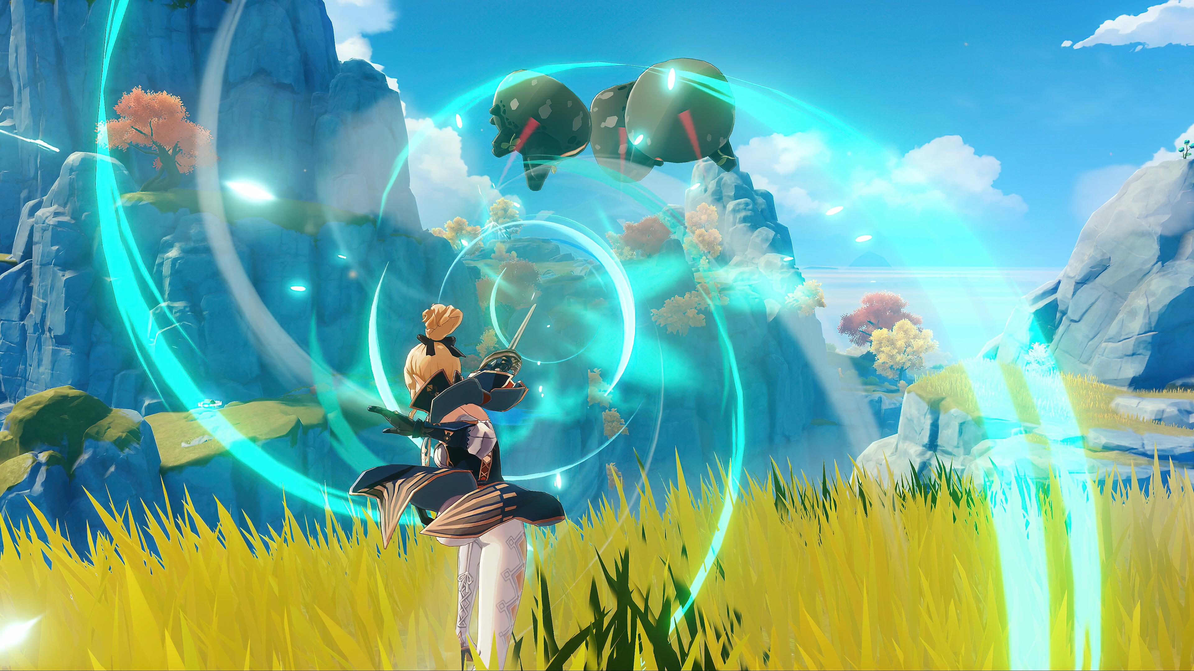 Genshin impact – Странствуйте в отряде из четырех игроков – изображение раздела