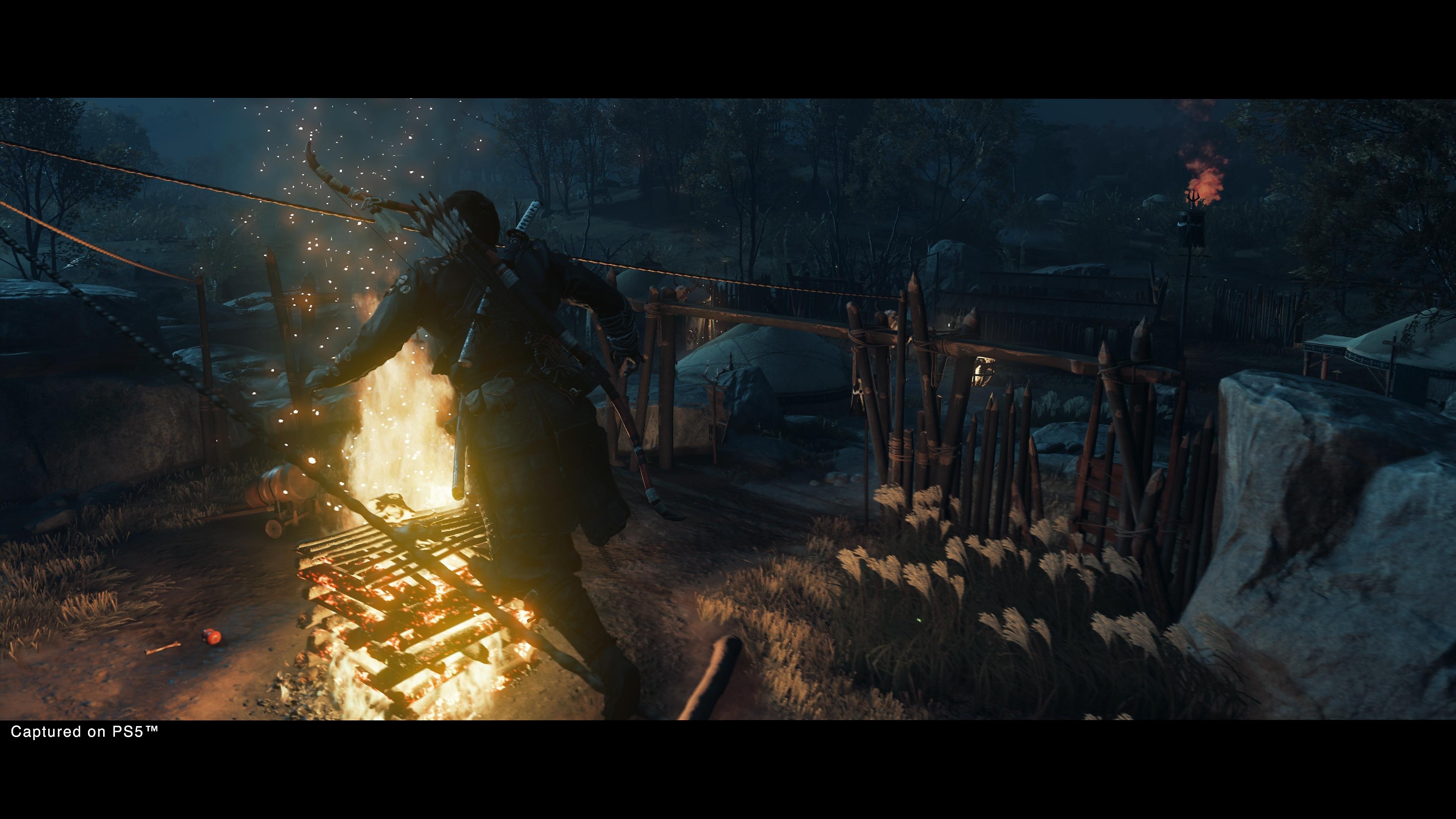 لقطات شاشة من شبح تسوشيما