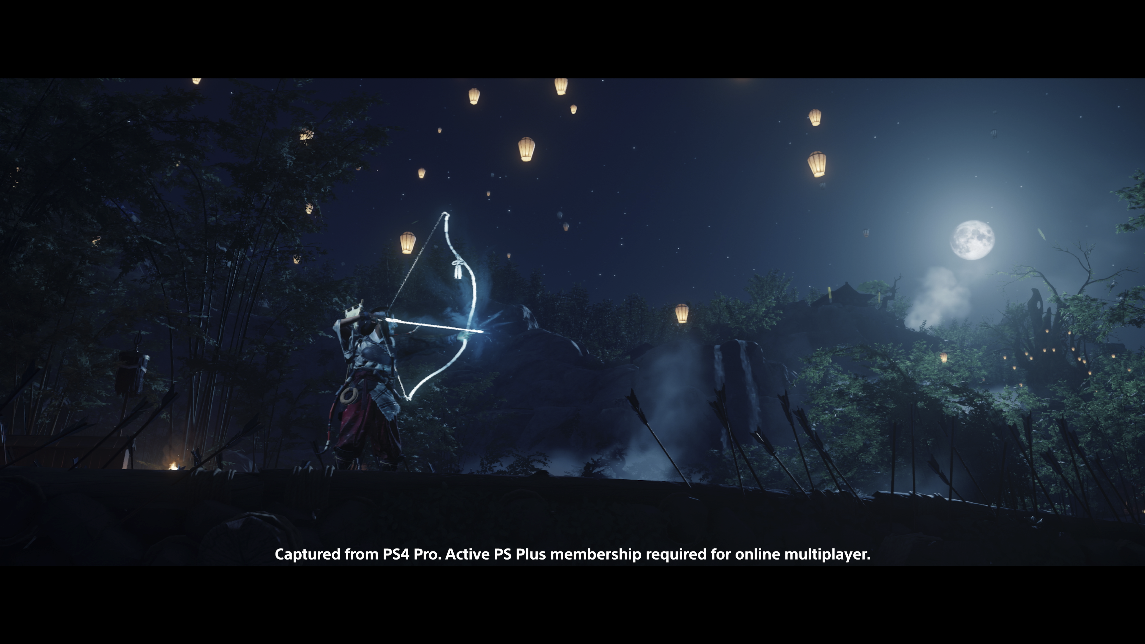 ghost of tsushima legends screenshot